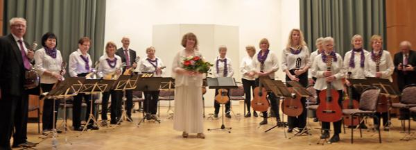 Konzert der MVB im November 2015