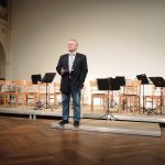 Rede des BDZ-Präsidenten Prof. Joël Betton (© Dr. H. Kolland, LMR Berlin)