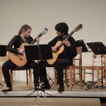"Das Duo ""12 Cuerdas"" eröffnete das Konzert (© Dr. H. Kolland, LMR Berlin)"